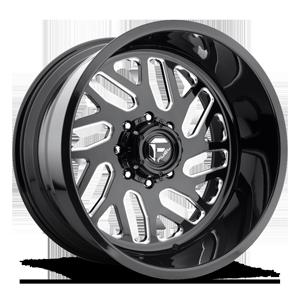 FF29 8 Gloss Black & Milled