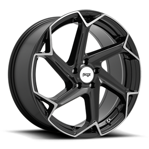 Flash - M255 5 Gloss Black with Brushed Face