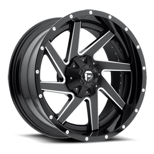 Renegade - D265 5 Black & Milled Center and Gloss Black Outer