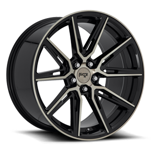 Gemello - M219 5 20x10.5 | Gloss Black & Machined DDT