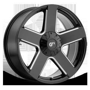 TR52 6 Gloss Black Milled