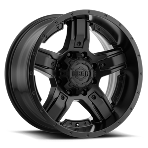 740 Manifold 8 Satin Black with Customizable Satin Black Inserts