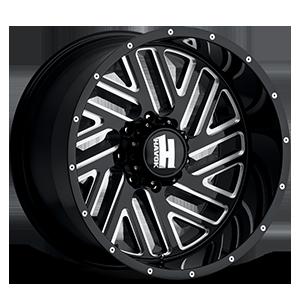 H110 8 Black Milled