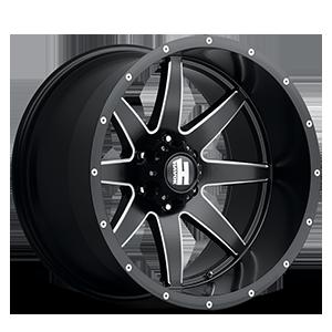 H112 6 Black Milled