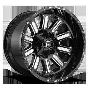 Hardline - D620 5 Gloss Black & Milled