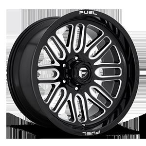 Ignite - D662 6 Gloss Black & Milled