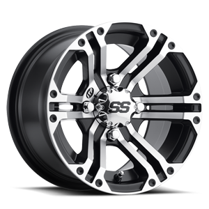 SS212 Alloy 4 Machined Black