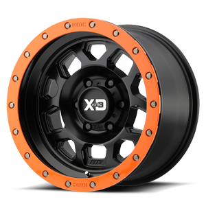 XD132 6 Satin Black w/ Optional Speed Orange Ring