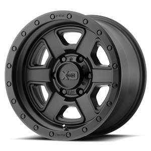 XD133 Fusion Off-Road 6 Satin Black