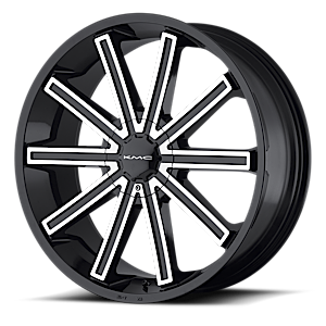 KM681 Nerve 6 Gloss Black Machined