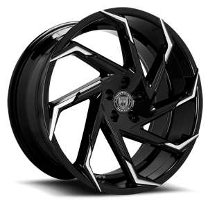 Cyclone 5 Black & Machined