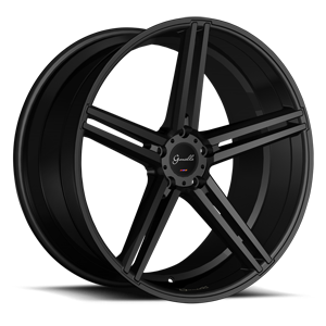 Lucca 5 Gloss Black