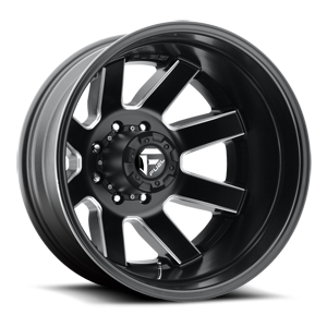 Maverick Dually Rear - D538 8 Black & Milled