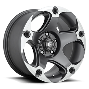 Menace - D684 5 Anthracite & Machined