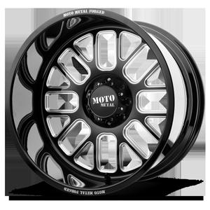 MO404 8 Gloss Black Milled