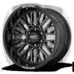 MO802 6 Gloss Black Milled