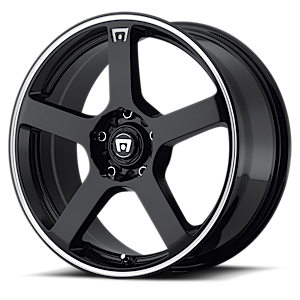 MR116 5 Gloss Black w/ Machined Flange