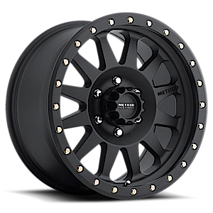MR304 - Double Standard 6 Matte Black