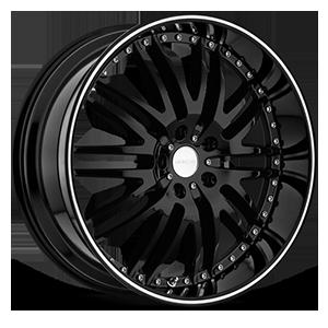 Z04 M-Sport 5 Gloss Black with Machined Stripe
