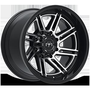 425 Millenium 8 Machined Black