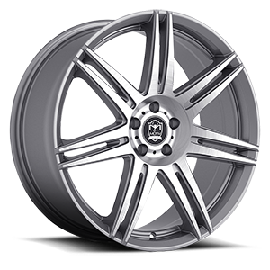 414 Modena 5 Anthracite with Brushed Face