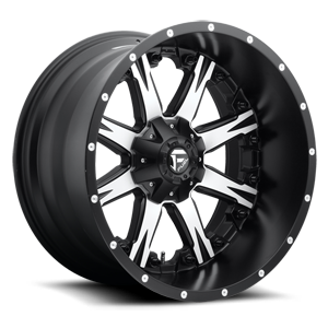 Nutz - D541 5 Black w/ Machined Face