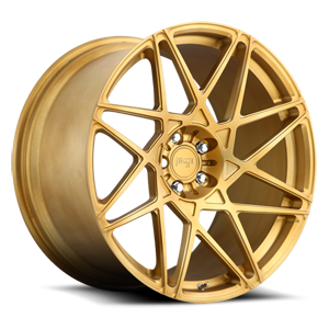 Alpine-D 5 Brushed Transparent Matte Gold