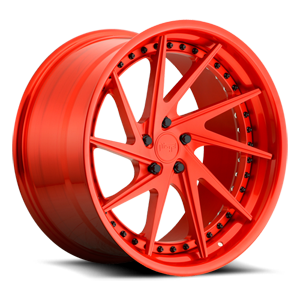 Invert 5 Brushed Trans Matte Red/Brushed Trans Gloss Red
