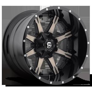 Nutz - D252 5 Black & Machined with Dark Tint