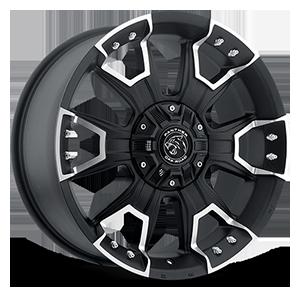 904 6 Flat Black Machined