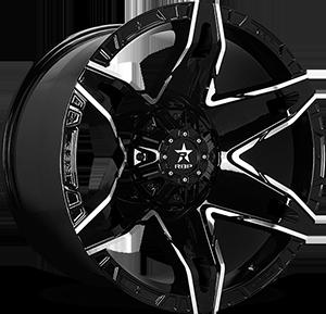 70R Quantum 8 Black Machined