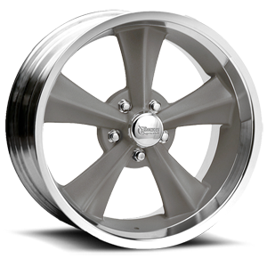 R13 Booster 5 Gray Paint Center / Machined Outer