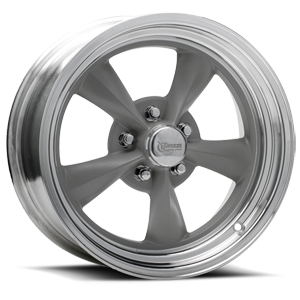 R23 Fuel 5 Gray Paint Center / Machined Outer