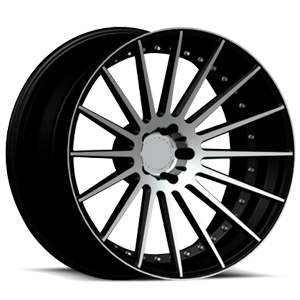 RSL-16 X Concave 5 Black Machined