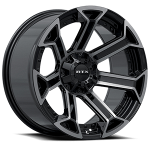 Peak 6 Black Machined Grey