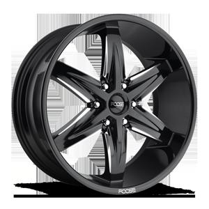 Slider-F162 6 Gloss Black & Milled