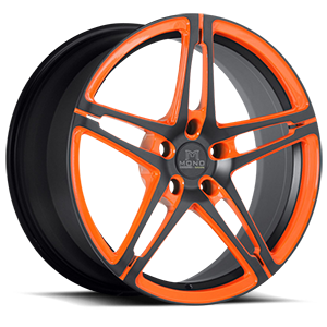 SV10-M 5 Matte Black with Orange