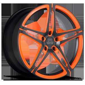 SV10-M 5 Matte Black with Orange