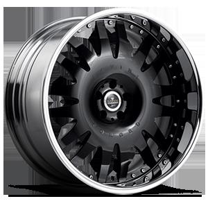 SV13 5 Black with Chrome Lip