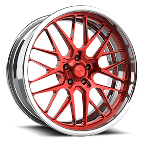 Grid eXL s.concave 5 Red and Polished