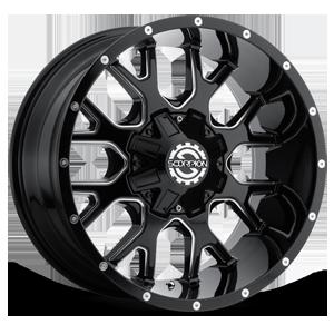 SC-19 8 Black Milled