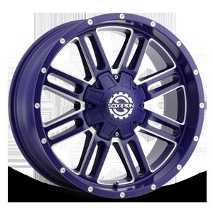 SC-18 6 Neon Blue Milled
