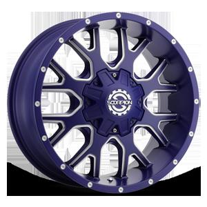 SC-19 8 Neon Blue Milled