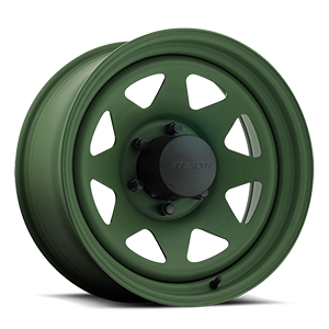 8-Spoke Stealth (Series 704) 6 Green