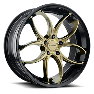 SC103 5 Gloss Black with Bronze Face