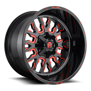 Stroke - D612 5 Gloss Black w/ Candy Red