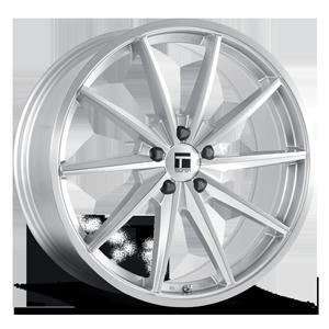 TF02 5 Brushed Silver Gloss