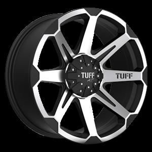 T05 6 Flat Black w/ Machined Face