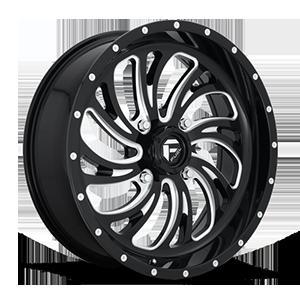 Kompressor - D641 - UTV 4 Gloss Black & Milled