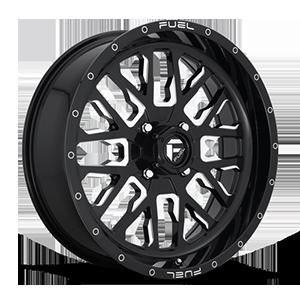 Stroke - D611 - UTV 4 Gloss Black & Milled